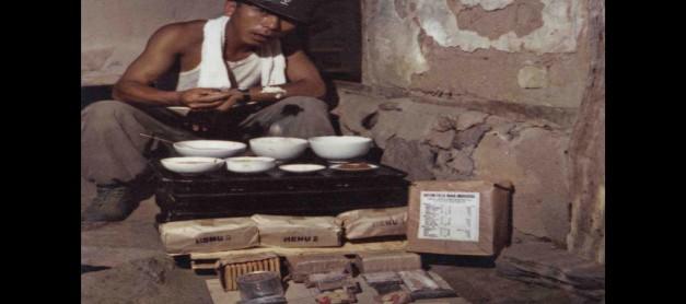 막강한 한국군의 비결. 먹방 전투식량