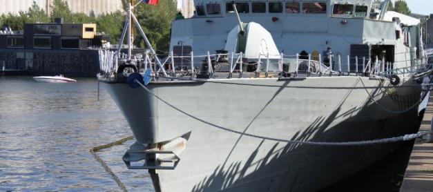 국군의 날 특집. 쿠과과광! 분당 220발의 발사가 가능한 Mk 110 57mm 함포