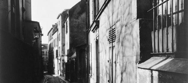 유젠 앗제 Eugène Atget 의 사람냄새 나는 구불 구불 사진들