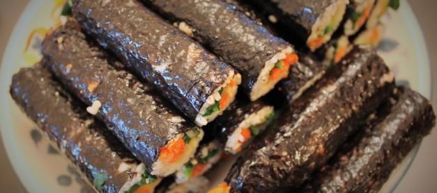 광장 시장의 마약 도매상들이 먹는 김밥