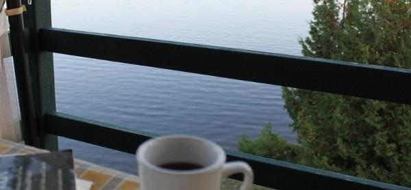추분의 아침