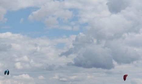 하늘이 파란 이유 – 가시광선의 산란 때문