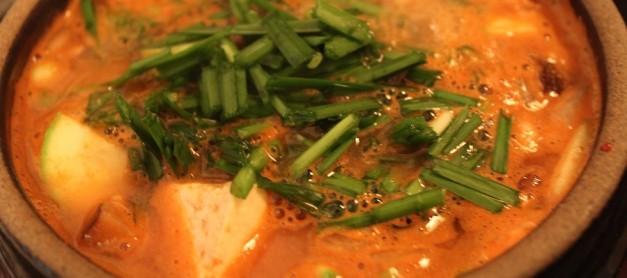 삼겹살과 어울리는 음식 – 부추 쑹쑹 강된장