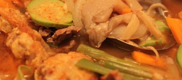 명절 음식 응용요리 – 모듬전 전골, 짬밥 응용 요리 – 부대찌개