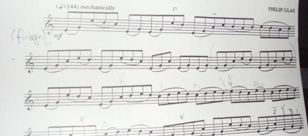 현대 바이올린 음악